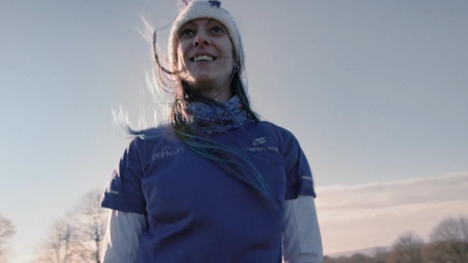 Jessica's parkrun heroes for Sky tv : Jo Eccles film