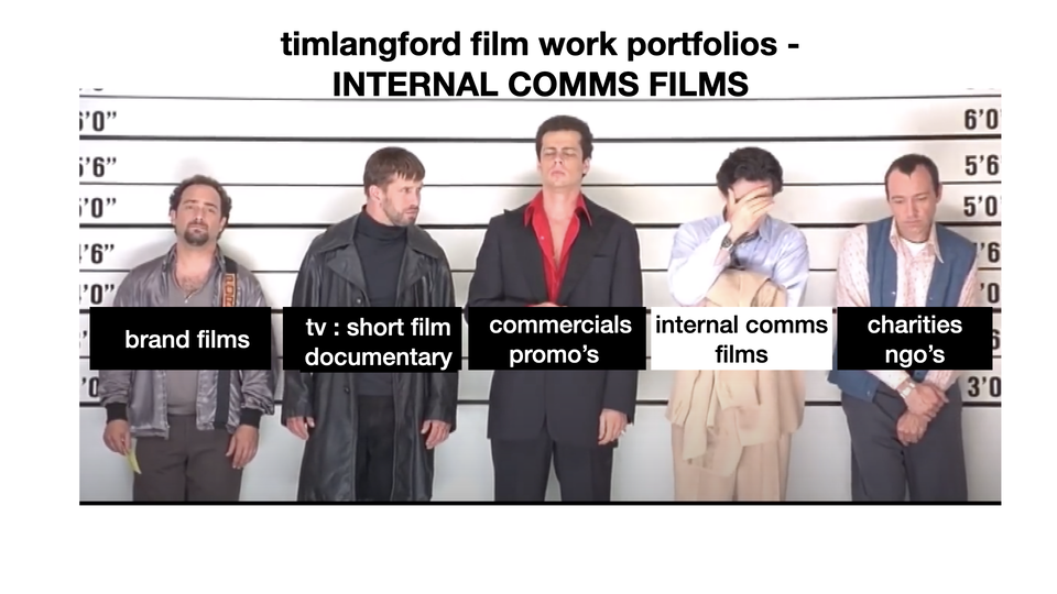 Corporate : internal comms films