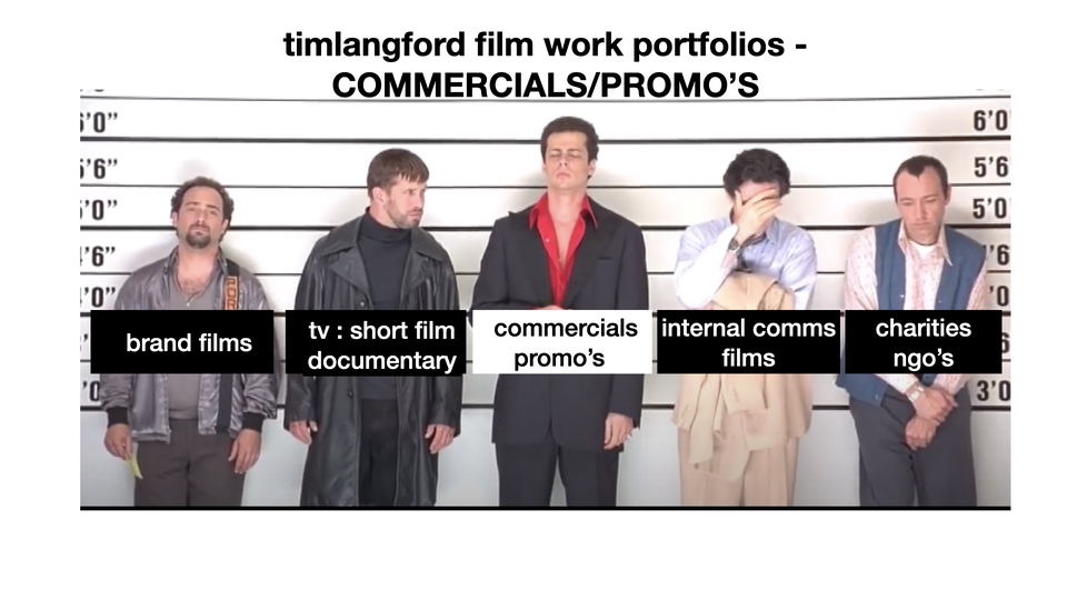 Commercials/promo's