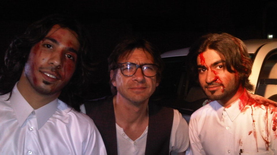 production + awards - 40 degree's at night in Doha. It was bloody. Commercial shoot with two Qatari actors.