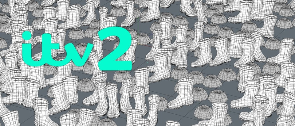 ITV2 Idents Case Study: ITV2 idents