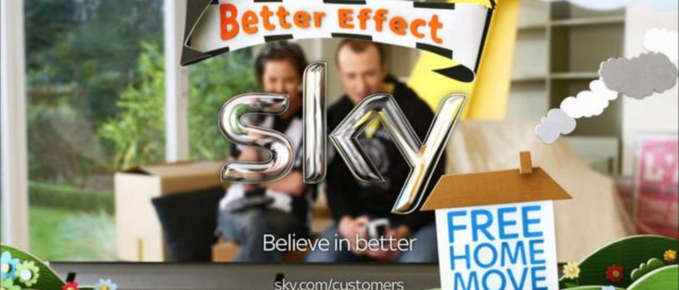 Sky - The Better Effect Sky - Free Home Move