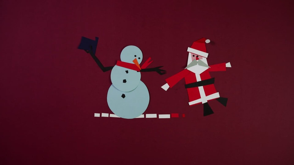 Christmas TV Ident for ERT
