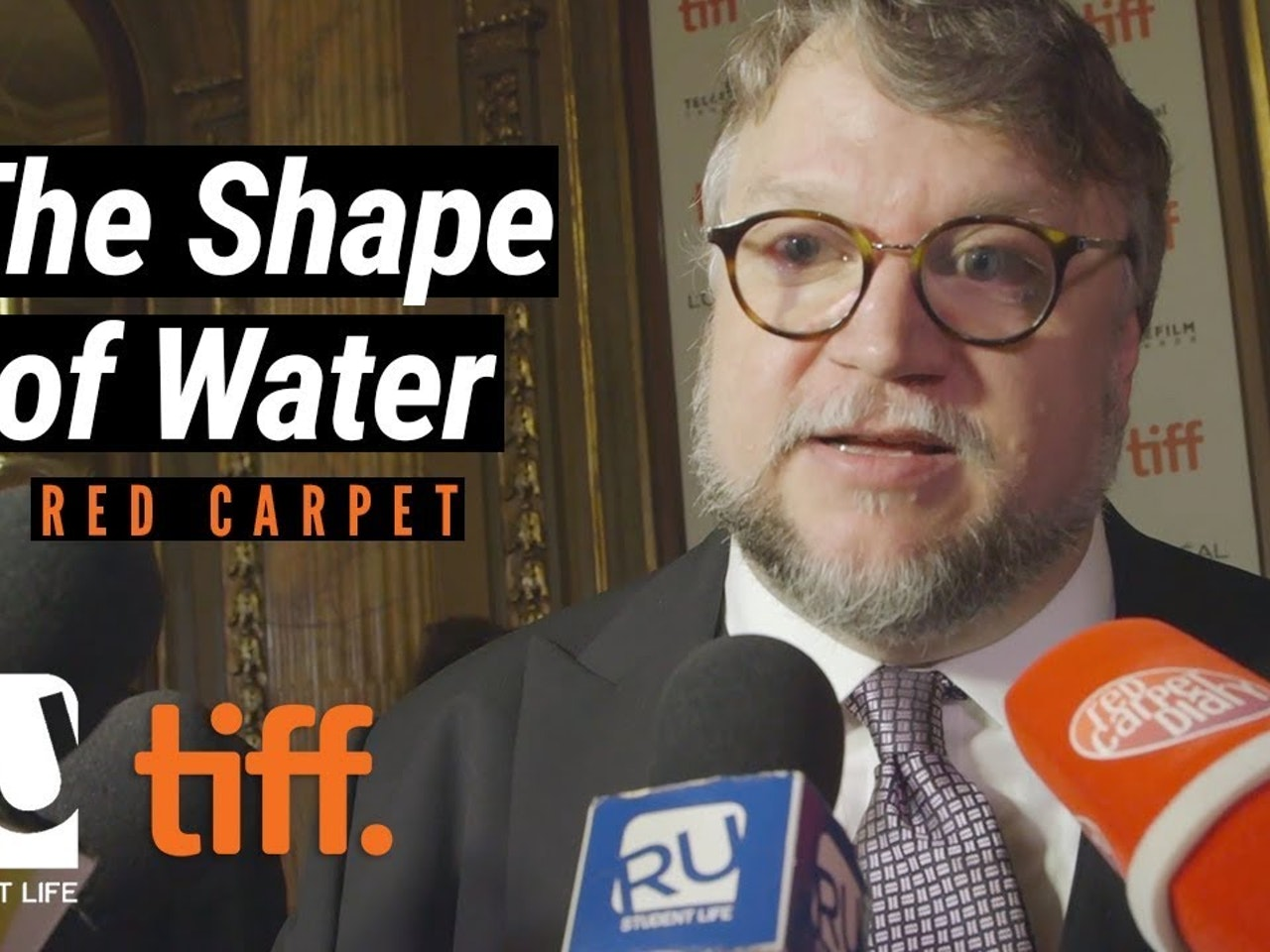 Golden Globes Best Director Guillermo del Toro Interview at TIFF17 'The Shape of Water' Premiere