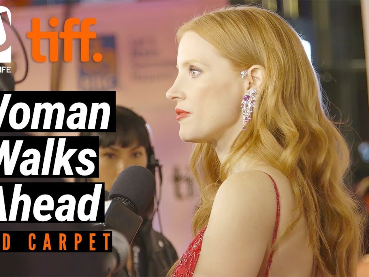 'Woman Walks Ahead' Red Carpet Premiere | TIFF 17