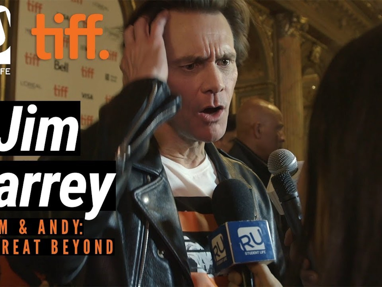 Jim Carrey Says He Learned Nothing Making 'Jim & Andy: The Great Beyond' | TIFF 17