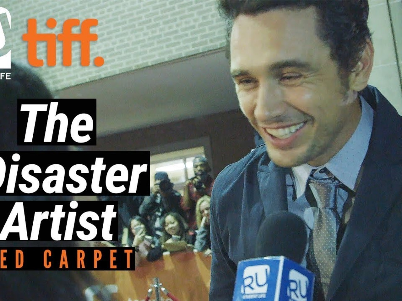 Golden Globes Winner James Franco Interview at 'The Disaster Artist' TIFF17 Premiere