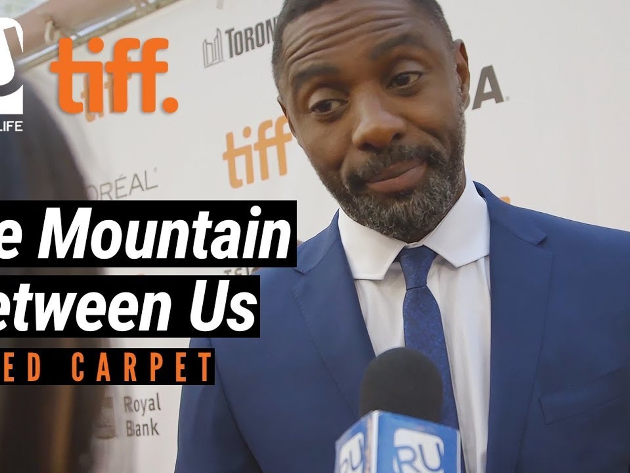 Idris Elba On What 'The Mountain Between Us' Taught Him | TIFF 17