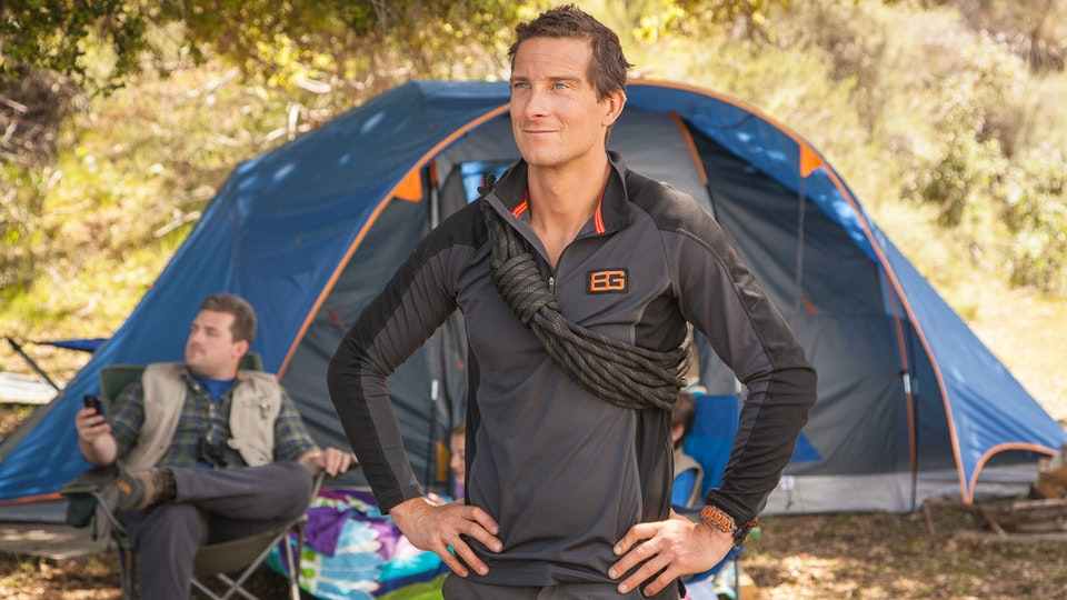 Kyocera, Bear Grylls Log Roll