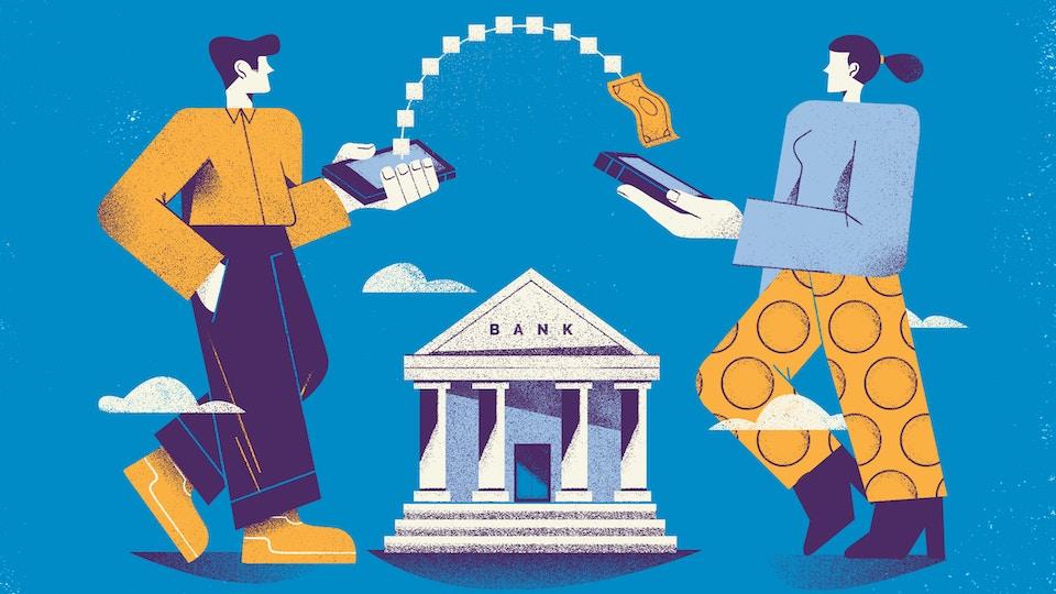Blockchain made the banks useless
