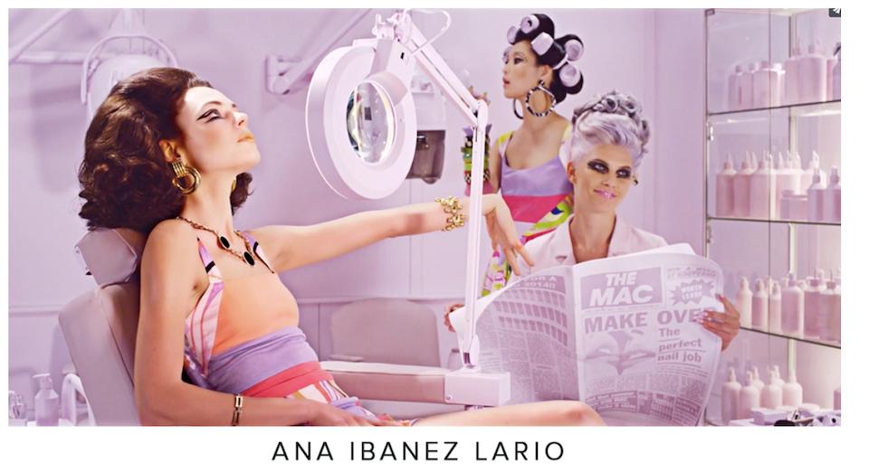 Ana Lario represented by Pink Bananas studios