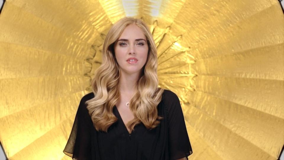 Chiara Ferragni x Pantene - My hair story TVC