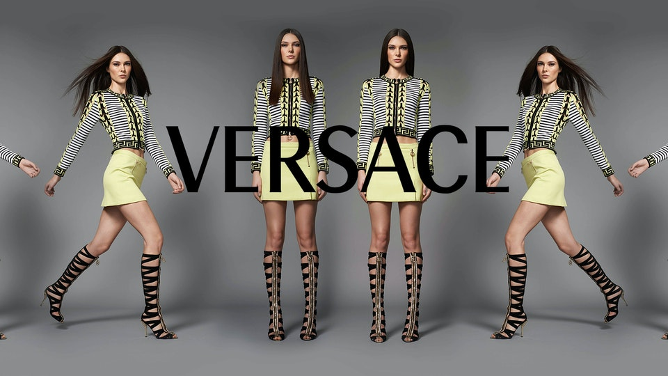 Versace e-commerce