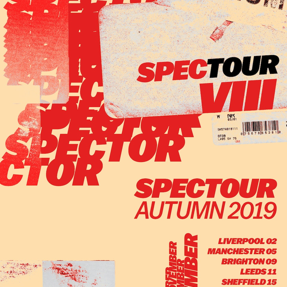 Spector - Tour Poster