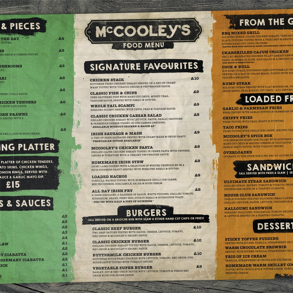McCooley's Liverpool