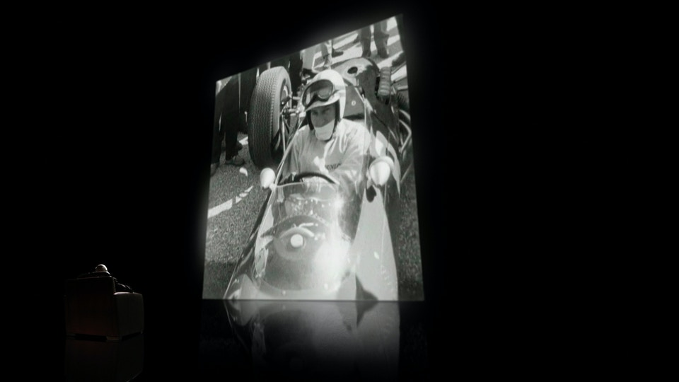 Murray Walker C4 F1