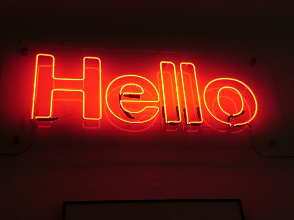 Good bye - Hello