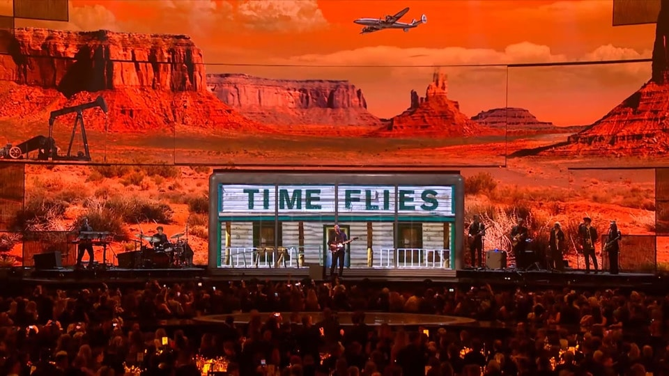BRITs 2019 - George Ezra Shotgun Performance Visuals