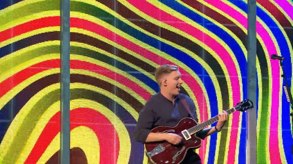 BRITs 2019 - George Ezra Shotgun Performance Visuals
