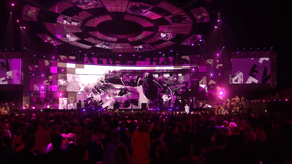 BRITs 2019 - PINK! What About Us Performance Visuals