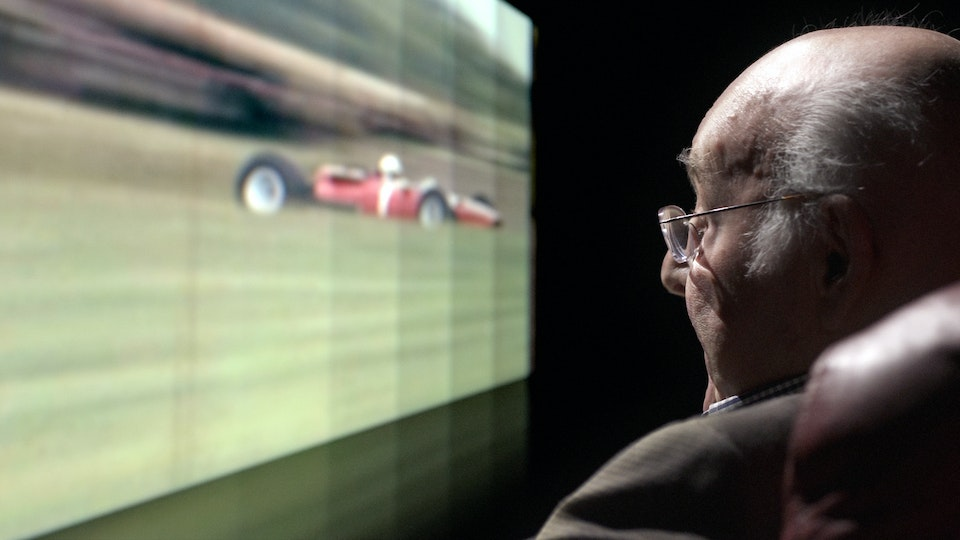 Murray Walker C4 F1