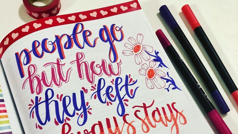 Handlettering Gallery