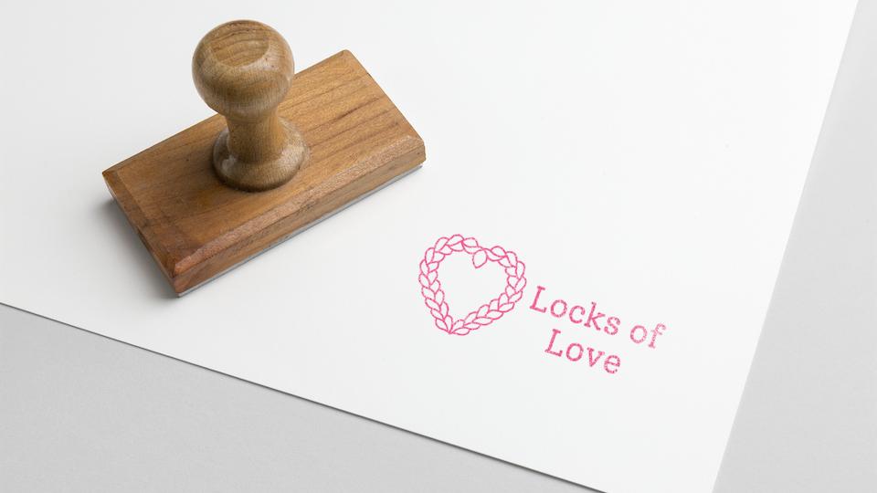 Locks of Love Visual Identity