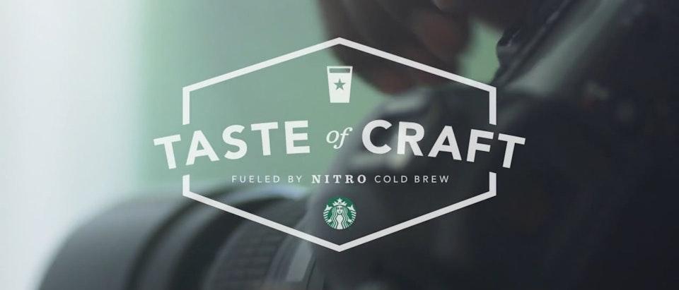 Starbucks - Taste of Craft