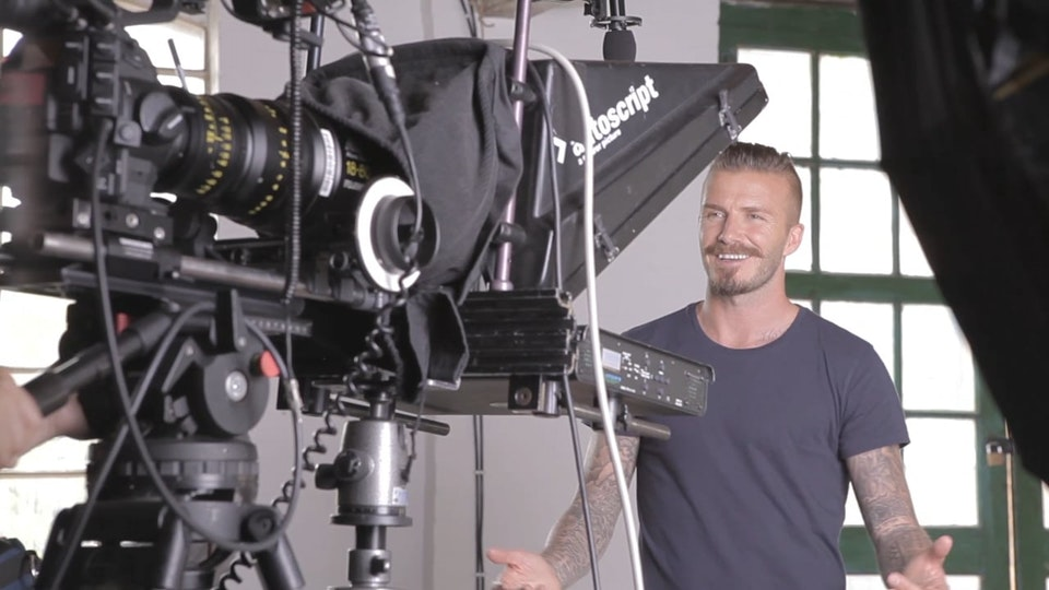 David Beckham Paralympics 2012 Behind The Scenes (Director's Cut)