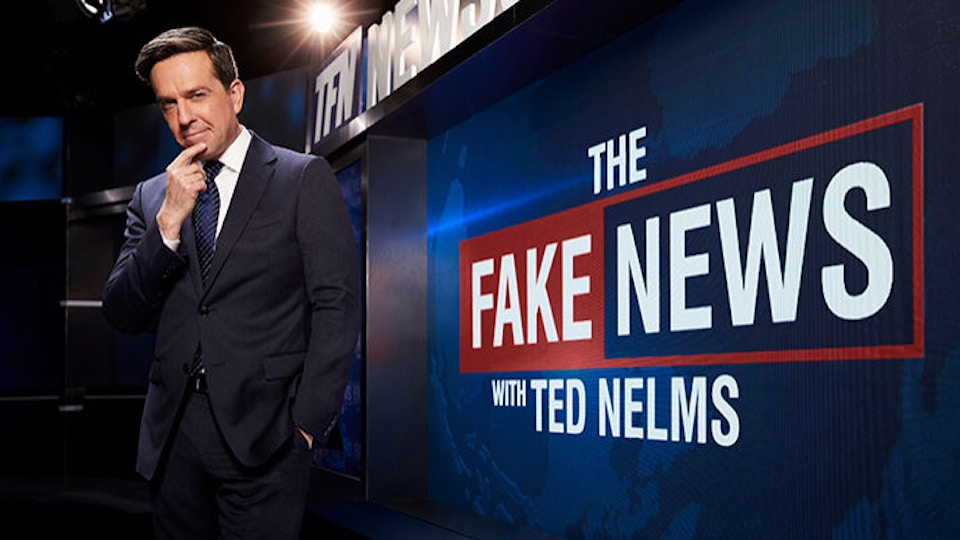 The Fake News with Ted Nelms - Comedy Central