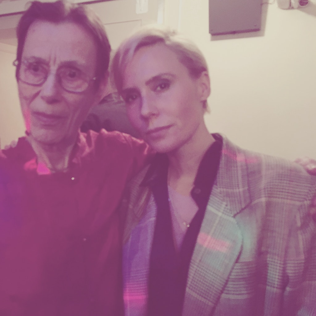 BACKSTAGE WITH YVONNE RAINER