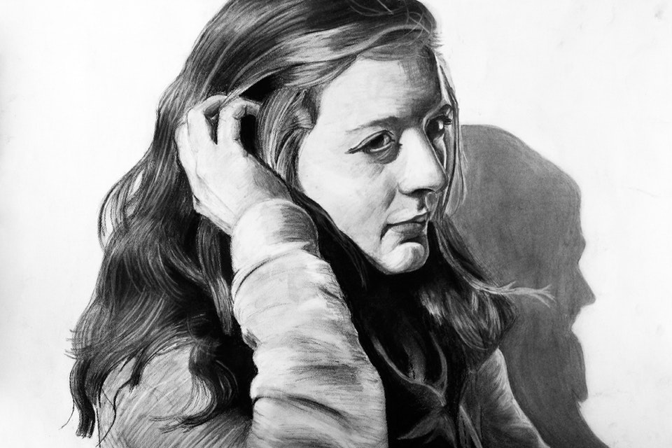 Drawing - Won Scholastic Art & Writing Gold Medal