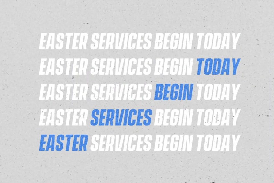 Easter -