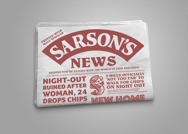 Newspaper Mockup sarsons #2