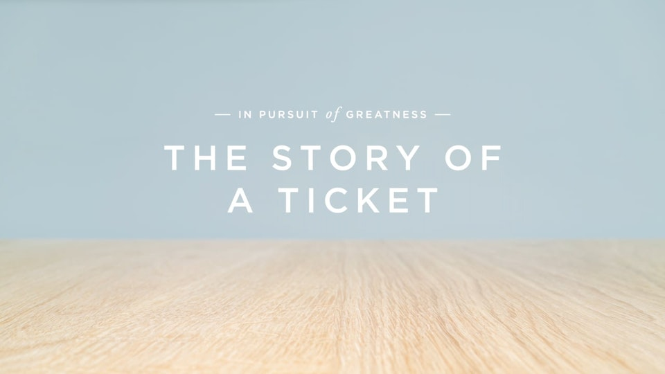 Wimbledon - The Story of a Ticket