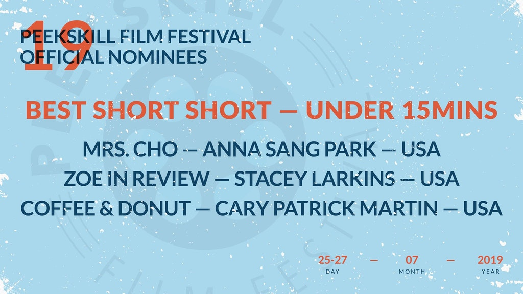 Mrs. Cho - Peekskill Film Festival