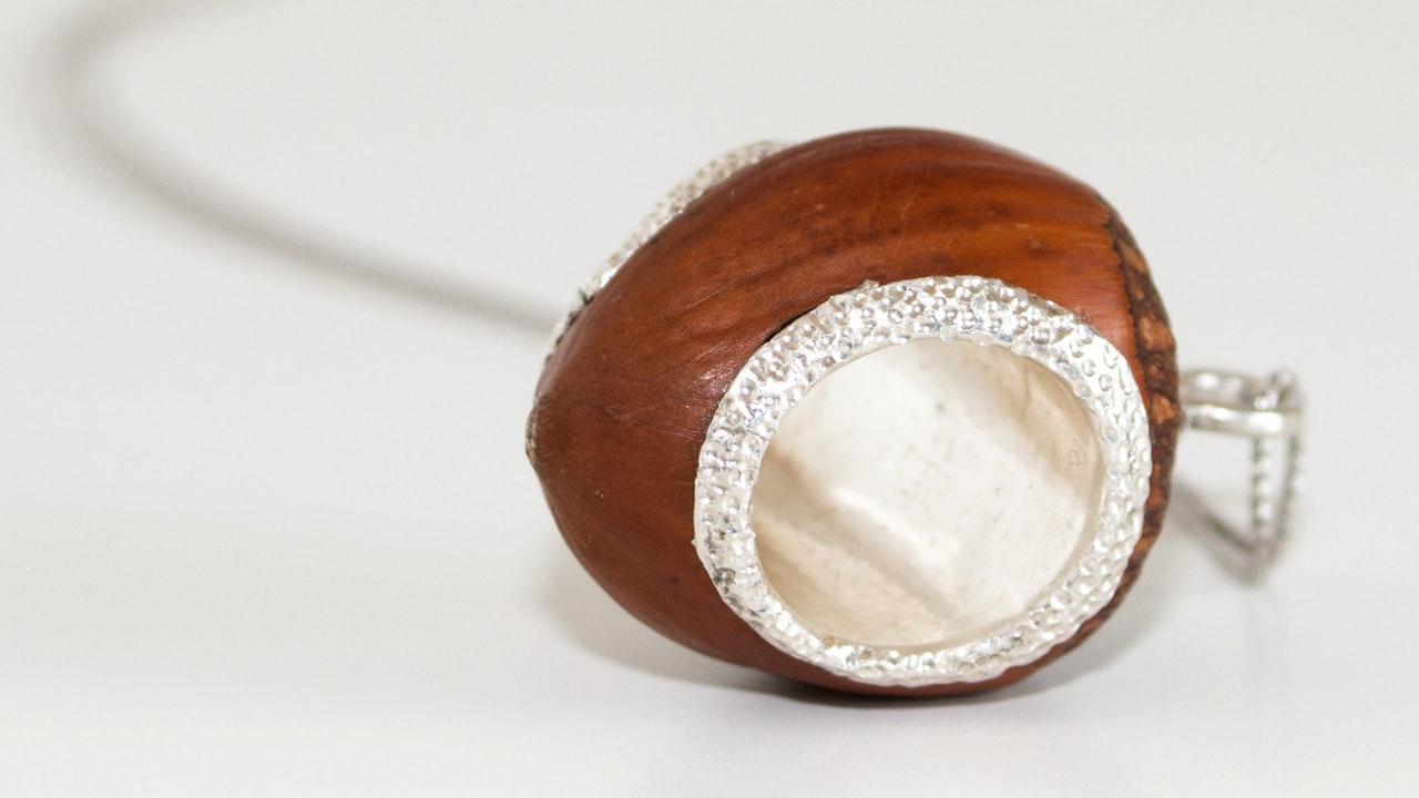 """Royal Hazelnut"" pendant"