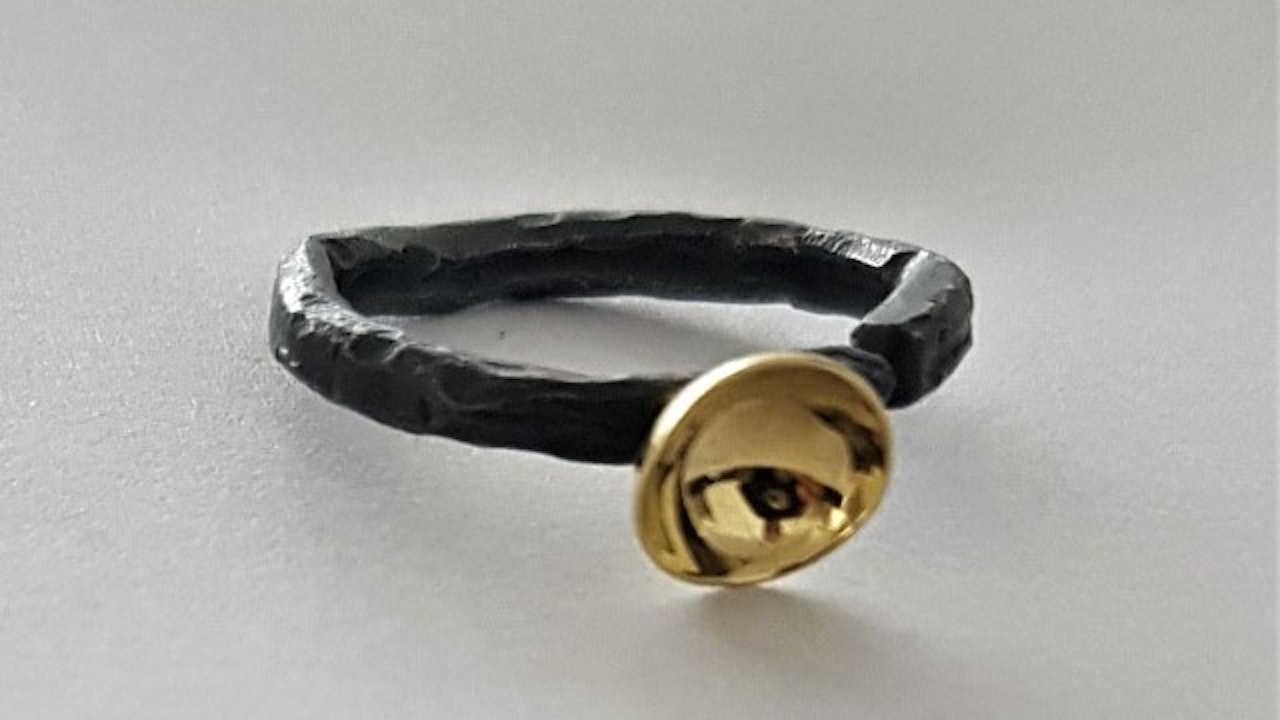 """Forged """"ancient"""" ring"""