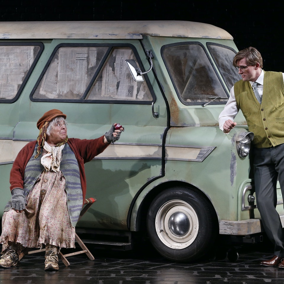 THE LADY IN THE VAN The Lady in the Van