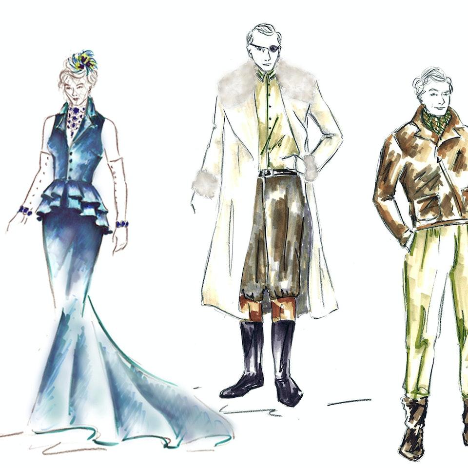 "Midsummer Night's Dream Costume Designs for ""Midsummer Night's Dream"", BSSTC 2011"