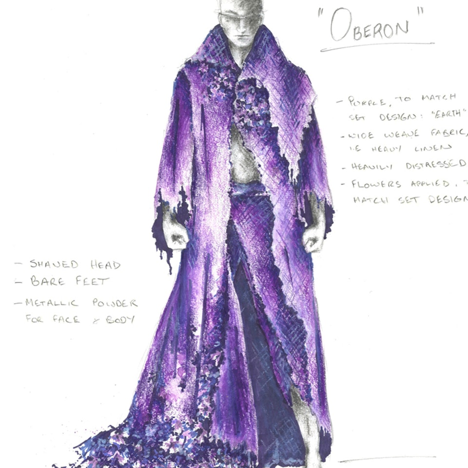 "Midsummer Night's Dream Costume Design for ""Midsummer Night's Dream"", BSSTC 2011"