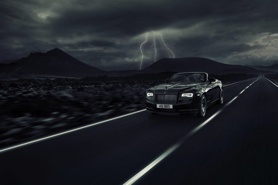 Rolls Royce: Black Badge Dawn