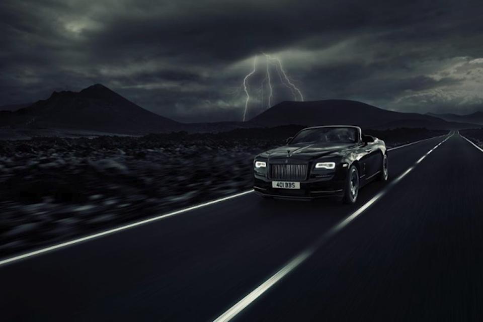 Rolls Royce: Black Badge Dawn