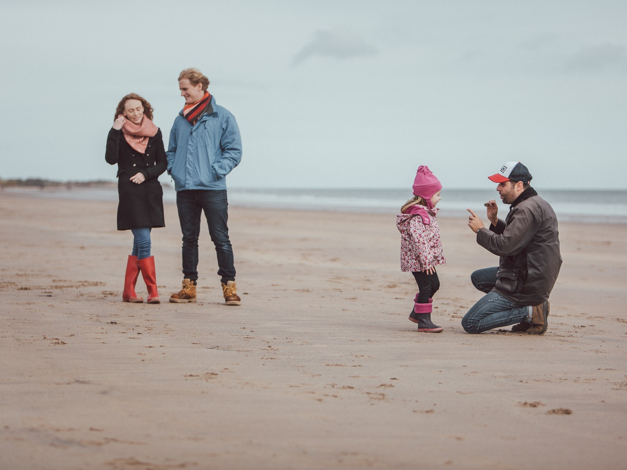 Shooting on location in Northumberland