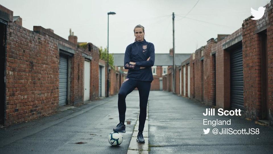 No.8 - Twitter: Woman in Football - Jill Scott