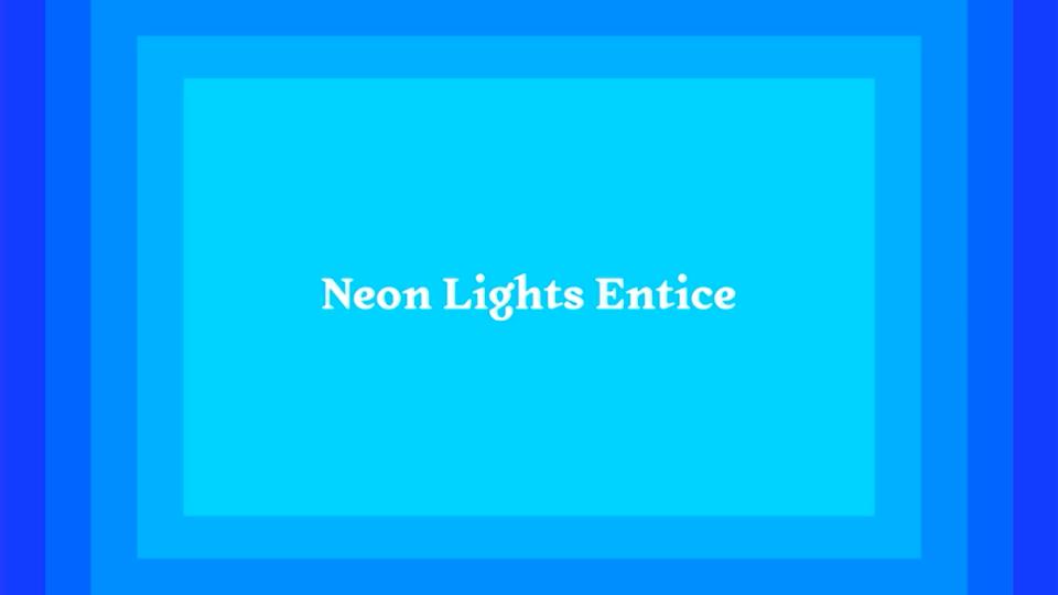 No.8 - Neon Lights Entice