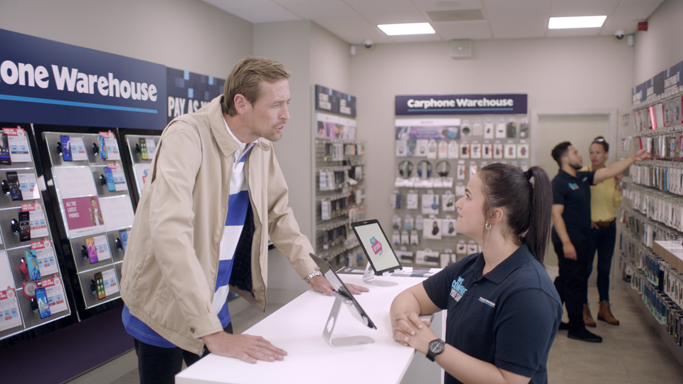 No.8 - Carphone Warehouse: Switcheroo