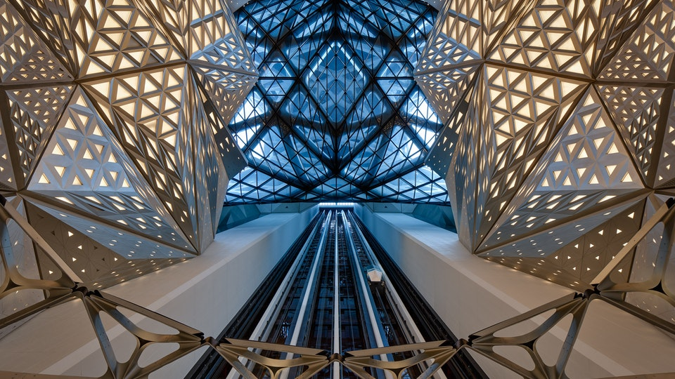 Hotel Morpheus   Launch films - Morpheus interior - Photo by Virgile Simon Bertrand