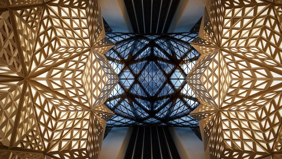 Hotel Morpheus | Launch films - Morpheus interior - Photo by Virgile Simon Bertrand
