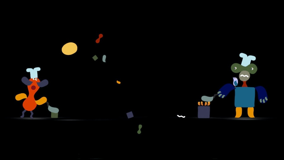 Lago I Projection mapped animation
